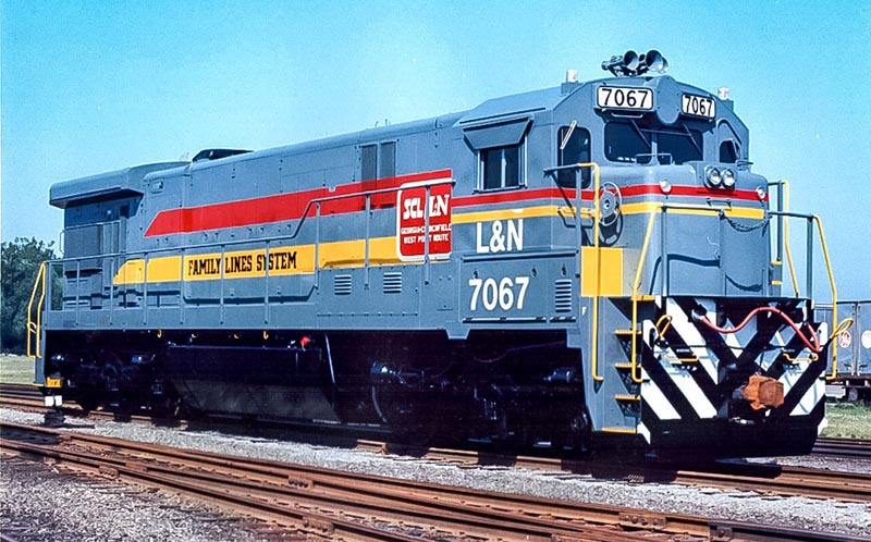 Kentucky Steam Heritage Adds L&N C30-7 to Collection