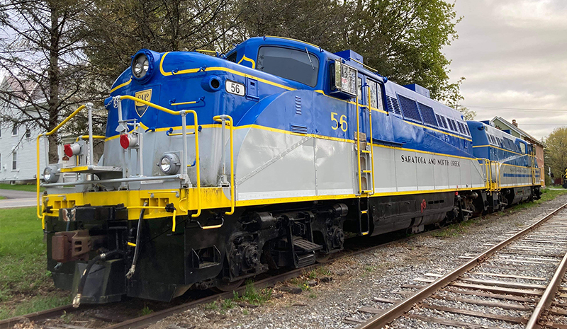 Hoosier Valley Railroad Museum EMD BL-2