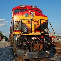 Kansas City Southern GE ET44AC Tier 4s