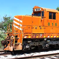 Former EJ&E SD-M donated to Hoosier Valley Railroad Museum