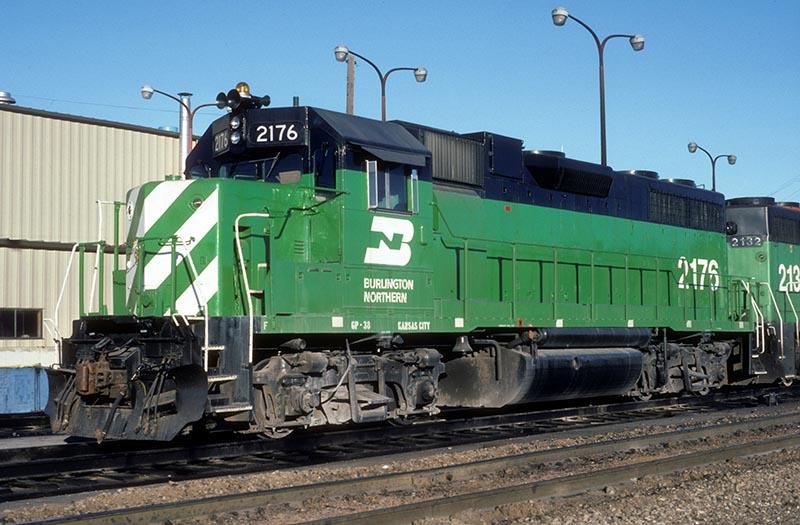 Burlington Northern GP38X