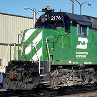Burlington Northern GP38X ex-Conrail (Penn Central) GP38s