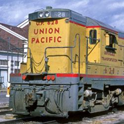 General Electric's Landmark U25: Union Pacific