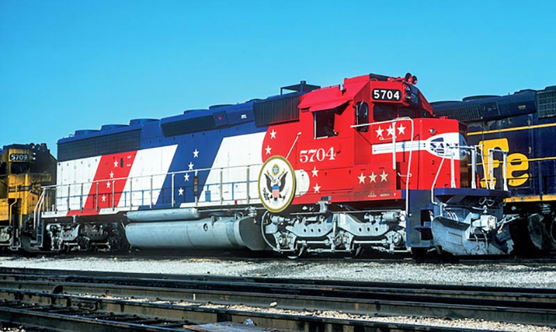 Santa Fe Bicentennial SD45-2 Donated to Southern California Railway Museum